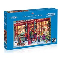 """Gibsons (G8016) - """"Christmas Toy Shop"""" - 2000 brikker puslespil"""