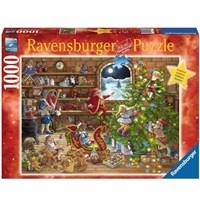 "Ravensburger (19882) - ""Countdown to Christmas"" - 1000 brikker puslespil"