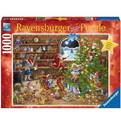 "Ravensburger (19882) - ""Countdown to Christmas"" - 1000 brikker puslespil"