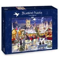 "Bluebird Puzzle (70070) - Richard Macneil: ""Xmas Market"" - 1000 brikker puslespil"