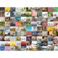 "Ravensburger (16007) - ""Bicycles"" - 1500 brikker puslespil"