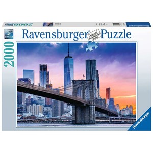 "Ravensburger (16011) - ""New York Skyline"" - 1000 brikker puslespil"