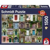 "Schmidt Spiele (58950) - ""Doors"" - 1500 brikker puslespil"