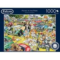"Falcon (11199) - Graham Thompson: ""Picnic in the Park"" - 1000 brikker puslespil"