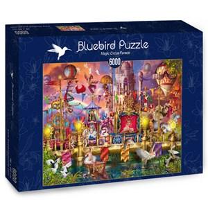 "Bluebird Puzzle (70251) - Ciro Marchetti: ""Magic Circus Parade"" - 6000 brikker puslespil"