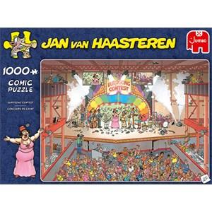 "Jumbo (20025) - Jan van Haasteren: ""Eurosong Contest"" - 1000 brikker puslespil"
