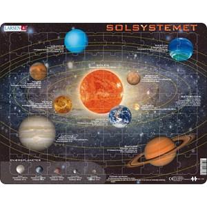 """Larsen (SS1-DK) - """"Solsystemet"""" - 70 brikker puslespil"""