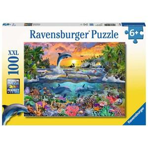 "Ravensburger (10950) - ""Tropical Paradise"" - 100 brikker puslespil"