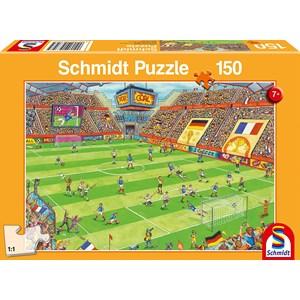 "Schmidt Spiele (56358) - ""Football Stadium Finale"" - 150 brikker puslespil"