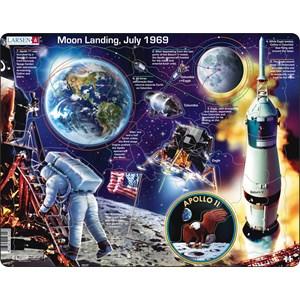 """Larsen (NB5-GB) - """"Apollo 11 - GB"""" - 50 brikker puslespil"""