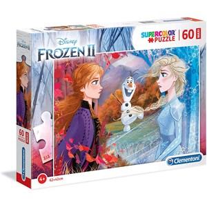 "Clementoni (26452) - ""Frozen 2"" - 60 brikker puslespil"