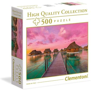 "Clementoni (96156) - ""Colorful Paradise"" - 500 brikker puslespil"