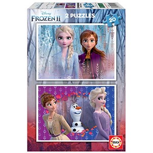 "Educa (18109) - ""Frozen 2"" - 20 brikker puslespil"