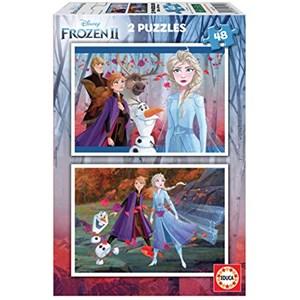 "Educa (18110) - ""Frozen 2"" - 48 brikker puslespil"