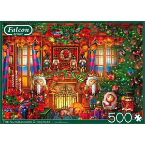 "Falcon (11272) - Ciro Marchetti: ""The Nutcrackers Christmas"" - 500 brikker puslespil"