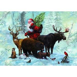 "Piatnik (5515) - ""Santa's Team"" - 1000 brikker puslespil"