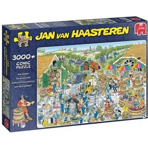 """Jumbo (19198) - Jan van Haasteren: """"Vingård"""" - 3000 brikker puslespil"""