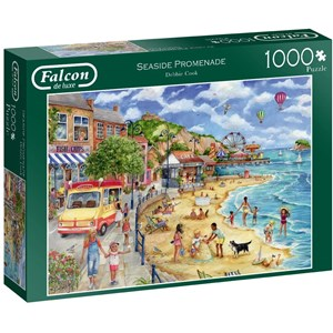 "Falcon (11264) - Debbie Cook: ""Seaside Promenade"" - 1000 brikker puslespil"