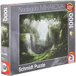 "Schmidt Spiele (59609) - Nadegda Mihailova: ""Retreat"" - 1000 brikker puslespil"