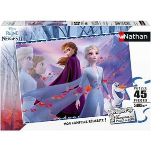 """Nathan (864515) - """"Frozen 2"""" - 45 brikker puslespil"""