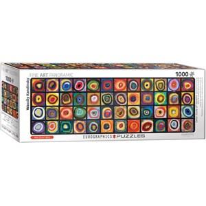 "Eurographics (6010-5443) - Vassily Kandinsky: ""Color Square"" - 1000 brikker puslespil"