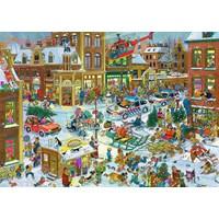 """Jumbo (13007) - Jan van Haasteren: """"Christmas"""" - 1000 brikker puslespil"""