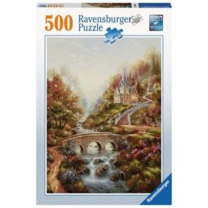 """Ravensburger (14986) - """"The golden Hour"""" - 500 brikker puslespil"""
