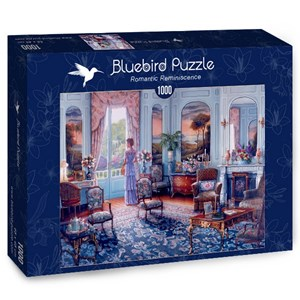 "Bluebird Puzzle (70335) - John O'Brien: ""Romantic Reminiscence"" - 1000 brikker puslespil"