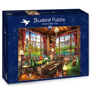 "Bluebird Puzzle (70336) - Dominic Davison: ""Mount Cabin View"" - 1000 brikker puslespil"