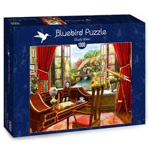 "Bluebird Puzzle (70320) - Dominic Davison: ""Study View"" - 1000 brikker puslespil"