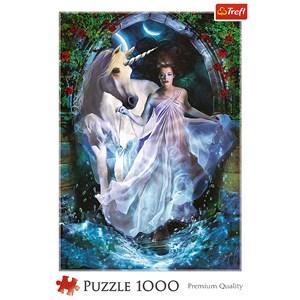 "Trefl (10593) - ""Magic Universe"" - 1000 brikker puslespil"