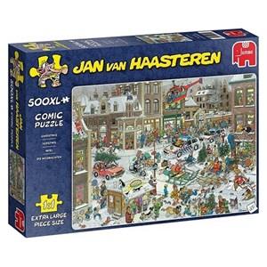 """Jumbo (20020) - Jan van Haasteren: """"Jul"""" - 500 brikker puslespil"""