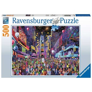 """Ravensburger (16423) - """"New Years in Times Square"""" - 500 brikker puslespil"""