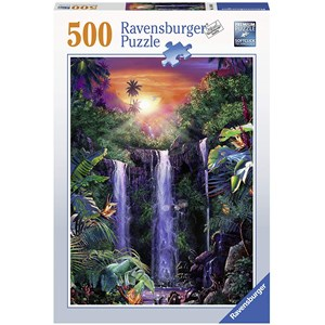 "Ravensburger (14840) - ""Magical Waterfall"" - 500 brikker puslespil"