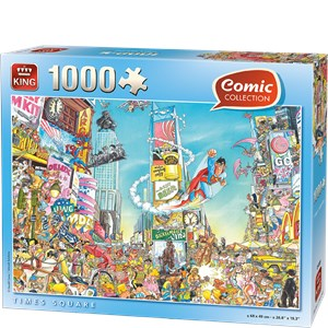 "King International (55905) - ""Times Square"" - 1000 brikker puslespil"