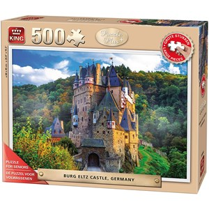 "King International (55844) - ""Burg Eltz Castle"" - 500 brikker puslespil"