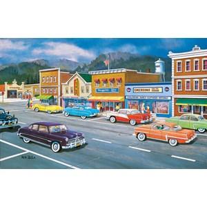 """SunsOut (37770) - Ken Zylla: """"Main Street of Memories"""" - 550 brikker puslespil"""