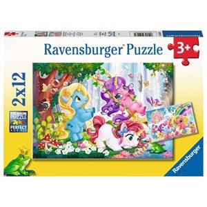 "Ravensburger (05028) - ""Magical Unicorn World"" - 12 brikker puslespil"