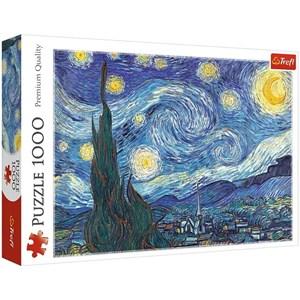 "Trefl (10560) - Vincent van Gogh: ""The Starry Night"" - 1000 brikker puslespil"