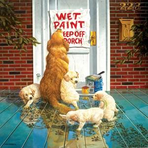 """SunsOut (36028) - Don Crook: """"Wet Paint"""" - 500 brikker puslespil"""