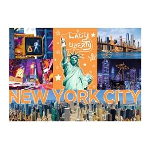 """Trefl (10579) - """"New-York Neon City"""" - 1000 brikker puslespil"""