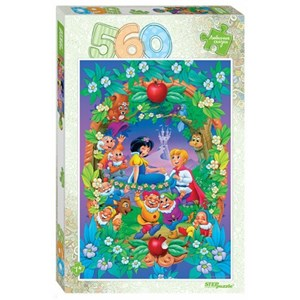 "Step Puzzle (78102) - ""Snow White"" - 560 brikker puslespil"
