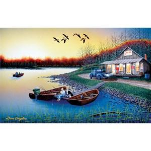 """SunsOut (60370) - Don Engler: """"Jack's Place"""" - 550 brikker puslespil"""