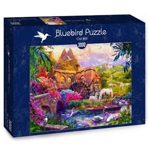 "Bluebird Puzzle (70146) - Jan Patrik Krasny: ""Old Mill"" - 3000 brikker puslespil"
