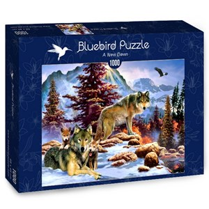 "Bluebird Puzzle (70290) - Howard Robinson: ""A New Dawn"" - 1000 brikker puslespil"