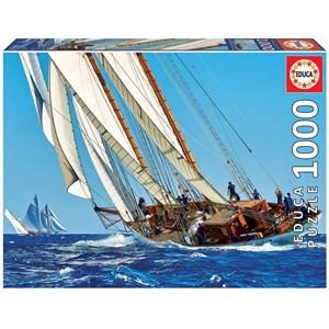 "Educa (18490) - ""Yacht"" - 1000 brikker puslespil"