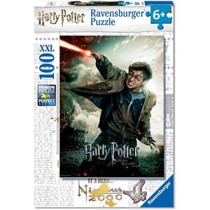 """Ravensburger (12869) - """"Harry Potter"""" - 100 brikker puslespil"""