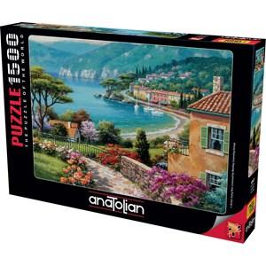 """Anatolian (4547) - Sung Kim: """"Lakeside"""" - 1500 brikker puslespil"""