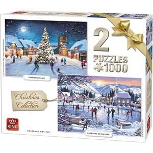 "King International (05217) - ""Christmas Collection"" - 1000 brikker puslespil"