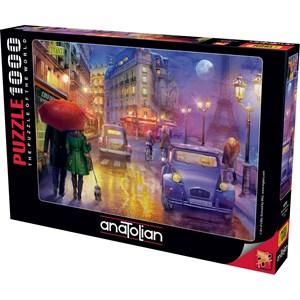 "Anatolian (1070) - ""Paris at Night"" - 1000 brikker puslespil"